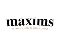 Maxims - Rebranding