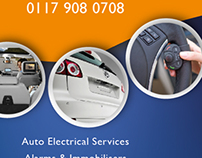 Flyer for Automotive Control