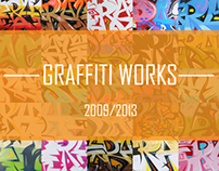 Graffiti Works 2009-2013