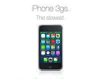 iPhone 3gs parody