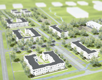 Osiedle modułowe | Modular housing estate