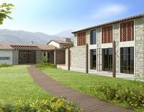 HOUSE IN PIETRASANTA - ITALY