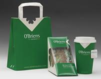 O'Brien's Irish Sandwich Bar branding
