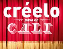 LIBRO CREELO PASA EN CALI