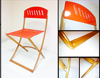 Folding Chair inspired by 'Infinitii'