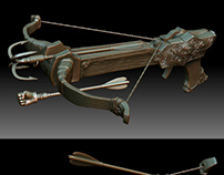 Crossbow 3D print design
