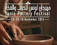 Tunis Pottery Festival Posters