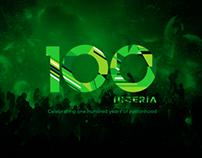 Nigeria Centenary Logo - Uninvited Redesign