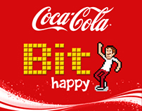 Coca-Cola BIT HAPPY
