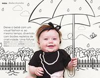 Produção de moda - Revista Decora Baby