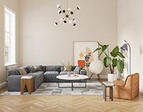 Livingroom | Corona Renderer