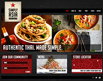 Simply Asia - Service store website