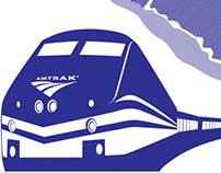 Amtrak Travel Poster
