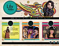 Lily Allen - Artist website