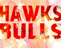 Chicago Bulls and Hawks