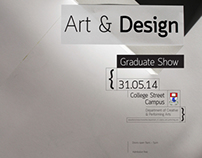 WIT Grad Show poster and web animation
