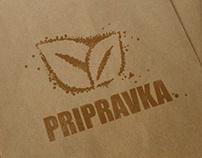 Pripravka Spices Logo Concept