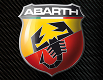 Fiat Abarth 500 with CorelDraw