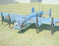Modeling B24-J Liberator