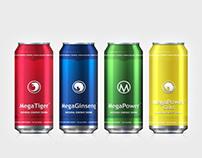 Mega Power Energy Drinks