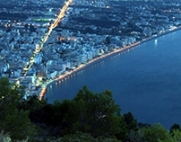 Loutraki - Peloponnese - Greece --- Panoramic View