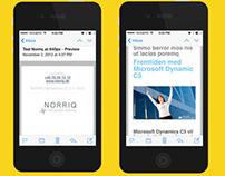 Responsive Email Template | Norriq Denmark