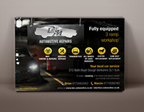 Promotional leaflet with basic information - Car Garage