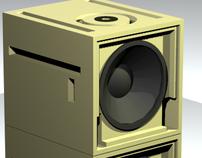 Speaker Design: Bas reflex system