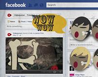 Cavemen discover social media