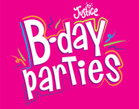 Justice - B-Day Party logo