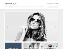 Shop & Buy  e-Commerce WordPress Theme