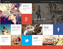 (M) Social  BuddyPress WordPress Theme