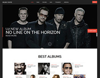 Music State - Music & Bands Joomla Template