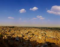 Panorama views of Jaiselmar