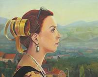 Painting - self portraits