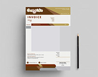 Fillable PDF Invoice design for Cheesecake Technologies