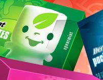 PocketMates - Packaging/Character design
