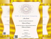 Gold Life Multipurpose Certificates
