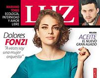 LUZ COVER DOLORES FONZI By ALEJANDRO BASCUAS