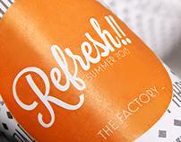 Packaging de moda. Refresh