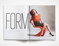 Visual identity for magazine - Basar