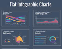 Free Vector Inforgraphic Charts