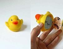Rubber Duck Bath Time Book
