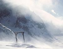 Concept art - Ice Mountain Valley