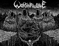 WORSHIP NO ONE COVER ART