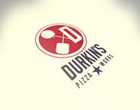 Table Tent & Icon Design for Durkin's Pizza