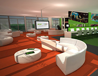 London Olympics: Athletes Lounge