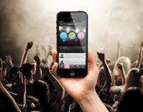 Event Finder - iPhone UI