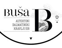 Buša – cheese label