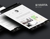 VARTA - App Concept